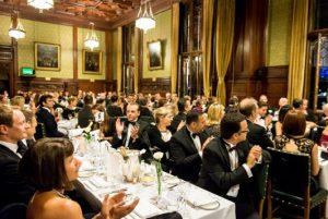 Premio Galeno 2016 (edizione britannica), cena di gala a palazzo Westminster.